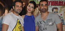 Emraan And Humaima At Mr Natwar Lal Press Meet