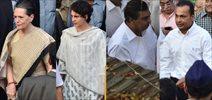 Anil, Mukesh Ambani, Sonai And Priyanka Gandhi At Murli Deora Funeral