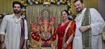 Neil Nitin Mukesh Celebrates Ganesha Festival