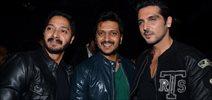Shreyas Talpade, Riteish Deshmukh, Zayed Khan At Nadiadwala Film Launch
