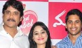 Nagarjuna and Chaitanya Manam Promotion