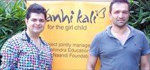 Atul And Dabboo At Nanhi Kalhi Event For Mahindras