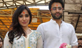 Neha And Jacky Visit Siddhivinayak To Seek Blessings For Youngistan