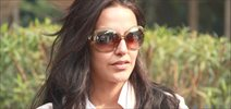 Neha Dhupia snapped at Domestic airport