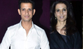 Sharman Joshi And Rhea Pillai At Nicolai Friedrich Show