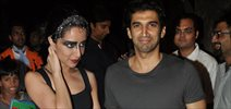 Aditya & Shraddha At Nido Halloween Night Bash