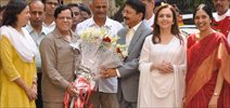 Nita Ambani At Cleanliness Drive