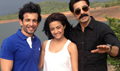 Surveen Chawla, Jay Bhanushali And Sushant Singh Snapped On The Sets Of Hate Story 2