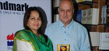 Anupam Kher launches Gajra Kottary's book 'Once Upon a Star'