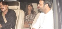 Priyanka Snapped At Marykom Screening