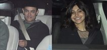 Aamir's Special Screening Of PK At Ambani's Residence