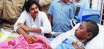 Pawan Kalyan visits Critically ill fan