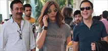Anushka Sharma & Raju Hirani Leave For Delhi PK Promotions