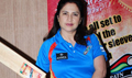 Kunika Take To Bat With Other TV Celebs At Pune Mol Ratan Jersey Launch