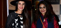 Tara Sharma & Madhoo At Palladium Halloween Bash