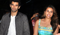Parineeti And Aditya Arrive From Daawat-E-Ishq Delhi Promotions