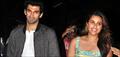 Parineeti And Aditya Arrive From Daawat-E-Ishq Delhi Promotions