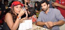Parineeti & Aditya Flag Off Of The Daawat-E-Ishq Food Yatra