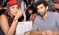 Parineeti & Aditya Flag Off Of The Daawat-E-Ishq Food Yatra