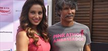 Bipasha & Milind Soman Announce 3rd Edition Of  Pinkathon