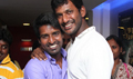 Vishal At Poojai Movie Press Show