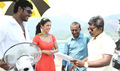 Poojai Working Stills