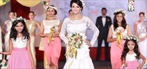 Bhavana Walks For Poornima Indrajith Show At M4Marry Bridal Show