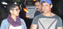Aamir, Kirab  And Others At Ranbir & Katrina's Pre Christmas Bash