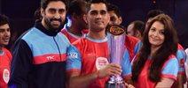 Abhishek Bachchan's Team Wins Pro Kabbadi Grand Finale