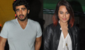 Sonakshi & Arjun Kapoor Snapped Promoting Tevar