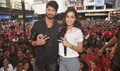 Promotion of 'Haider' at N. M. College's festival Umang 2014