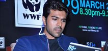 Ram Charan at Earth Hour 2014