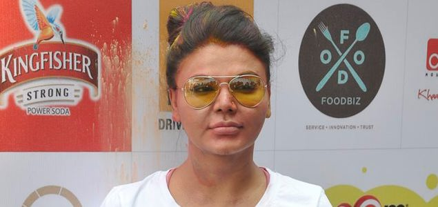 Rakhi Sawant's Holi Celebration