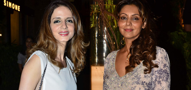 Gauri Khan And Susanne Khan At...