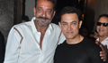 Sanjay Dutt Watches PK With Aamir Khan