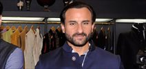 Saif Ali Khan Unveils Raghavendra Rathore's Mens Jewellery At His New Bandra Store