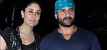 Saif Ali Khan and Kareena Kapoor at Nido