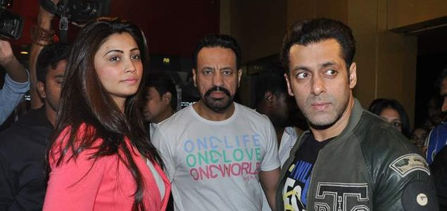 Salman Khan At The Screening Of Sholay 3D