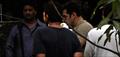 Salman Khan snapped at Mehboob Studio shooting for 'Kick'