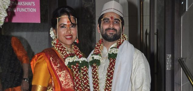 Sameera Reddy & Akshai Varde's wedding ceremony