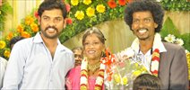 Vimal At Sentrayan Wedding Reception