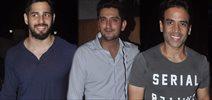 Siddharth Malhotra & Tushar At Shaad Randhawa Birthday Bash