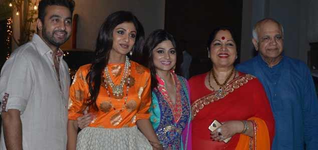 Celebs At Shilpa Shetty's Diwali Bash