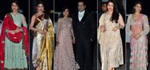 Celebs Grace Shirin Morani's Wedding Reception