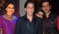 Madhuri Dixit, Shahrukh Khan And Hrithik Roshan at Uday and Shirin's Sangeet Ceremony