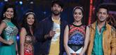 Shraddha And Shahid On The Sets Of Cinestars Ki Khoj