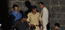 Ajay Devgan snapped shooting for Singham 2