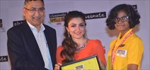Soha Ali Khan At Classmate Spellbee Event