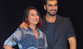 Sonakshi And Arjun At Tevar Promotions