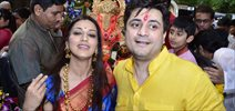 Sonali Bendre's Ganesha Visarjan
